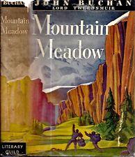 1941 JOHN BUCHAN 39 STEPS AUTHOR MOUNTAIN MEADOW GREENMANTLE WITH DUST JACKET