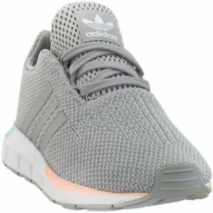 adidas Swift Run -  Toddler Boys  Sneakers Shoes Casual   - Grey - Size 4 M