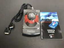 PANTHER 3D GAMING CONTROL BALL MOUSE MADCATZ MAD CATZ  NEW w/ MANUAL Rare