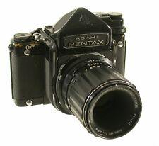 Asahi Pentax 6x7 Medium Format TTL Prism Macro Takumar 4/135mm f4 4 135 135mm/18