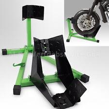 BITUXX® Motorrad Montageständer Motorradständer vorne Vorderrad Transportständer