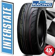 """4x 195/50 R15 82V Interstate Road Legal Track Day Tyres """"E"""" Marked (80 compound)"""