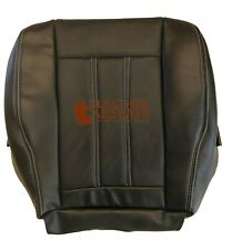 2013 Chrysler Town & Country Limited Driver Bottom Leather Seat Cover Black