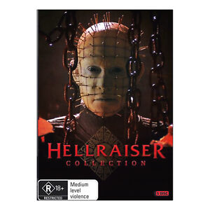 Hellraiser V - IX Collection DVD Inferno Hellseeker Deader Hellworld Revelations