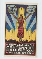 New Zealand Cinderella stamp 4-14-21 -nice- 1939- mnh gum extra nice