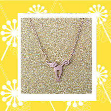 "CC20040 - Eye catching ""rose gold"" pendant with cat stainless steel pendent"