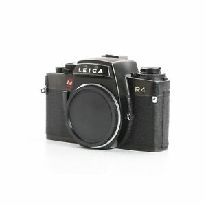 Leica R4 Black + Sehr Gut (234402)