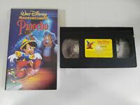 PINOCHO VHS CINTA TAPE LOS CLASICOS DE WALT DISNEY COLECCIONISTA UNICA EBAY!