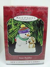 1998 SNOW BUDDIES, #1 HALLMARK KEEPSAKE ORNAMENT