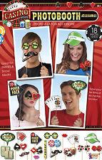 Casino Noche apoyos de la foto Nuevo Años Eve High Roller juego SELFIE Accesorios 77554