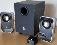 LOGITECH HiFi BASS Lautsprecher Multimedia System Subwoofer PC Notebook Speaker