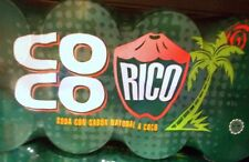 Coconut Soda Coco Rico Puerto Rico Refresco Cold Soft Drink Beverage Food 12late