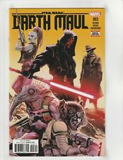 Darth Maul (2017) #3 NM- 9.2 1st Print Marvel Comics Star Wars,Aurra Sing,Cade