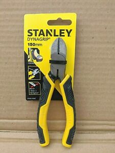 STANLEY CONTROL-GRIP SIDE CUTTERS 150MM NEW
