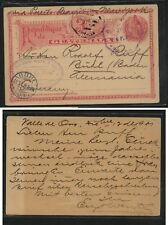 Guatemala nice postal card to Germany nice markings Ms0117