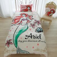 Disney Ariel Bed Cover 3-piece set SB-61 New Japan Free Shipping