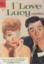 I LOVE LUCY COMIC BOOK #20 (DELL)