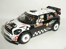 Scalextric - BMW Mini Cooper WRC #12 Araujo - Exc. Cdn.