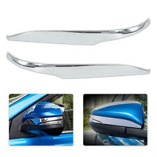 2pcs Chrome Plated Side Rearview Mirror Cover Trim fit for Toyota RAV4 2013-2017