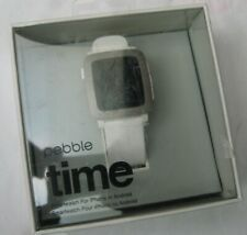 Pebble Time 9.5mm  Arctic White Classic Buckle - (501-00021)