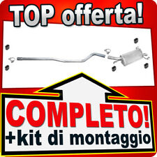 Scarico Completo OPEL CORSA C 1.7 DI DTI 65/75CV 2000-2003 Marmitta 962