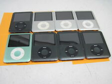 Lot of 8 Apple iPod Nano a1236 (5) 8GB & (3) 4GB for Parts or Repair Lot2
