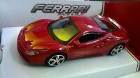 BURAGO 1:43 AUTO DIE CAST RACE & PLAY FERRARI 488 GTB ROSSO ART 18-36023