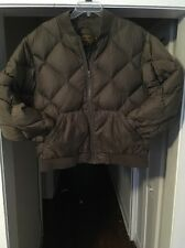 Eddie Bauer EB Goose Down Jacket Men's Large