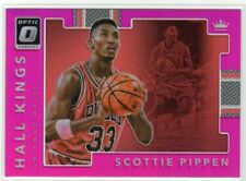 2017-18 Donruss Optic Scottie Pippen Hall Kings Pink Prizm #07/25