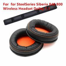 Earpads Pads Headband Cushion Foam For SteelSeries Siberia 840 800 Headsets Soft