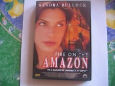 Dvd / Fire On The Amazon avec Sandra Bullock