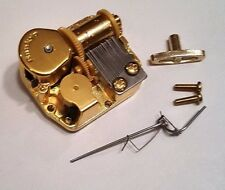 """Sankyo 18 Note Movement With Reuge Wire Stopper-""""School Days"""""""