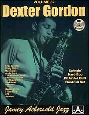 AEBERSOLD 082 Dexter Gordon Book/CD