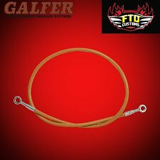 "Brake Line 36"" long Orange  for Extended Swingarms or Swingarm Extensions"