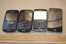 Lot of 4 Phones Blackberry Bold I Phone A1349 Smartphones As-Is #2058