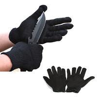 NEW Schnittschutz Handschuhe Cut Resistant Forsthandschuhe Wald Holz Motorsäge.~