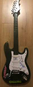 The Clash   **HAND SIGNED guitar**   ~ AUTOGRAPHED by 3   *BECKETT BAS*  Proof