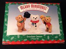 Hallmark Merry Miniature 1997 Snowbear Season - New