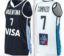 RARE Nike Air Jordan Argentina FIBA Olympic World Cup Basketball jersey men team