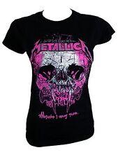 Metallica Damen T-Shirt Wherever I May Roam schwarz