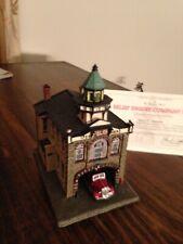 Danbury mint Fire house Relief Engine Co #1. Mint Condition