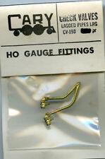 Original Cary HO CV-198 Check Valves - Lagged Pipes Lrg - NOS