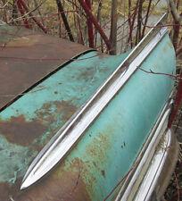 1958 buick special 4 door sedan post LH rear quarter fin molding