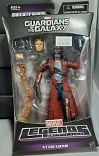 "STAR-LORD Marvel Legends Guardians of the Galaxy 6"" Figure Groot BAF MISP"