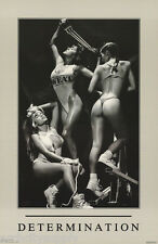 POSTER : DETERMINATION - SEXY FEMALE MODELS - FREE SHIPPING ! #3267   LC11 G