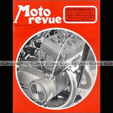 MOTO REVUE N°2043 YAMAHA 125 YAS 3 YAS3 XS 650 2 SUZUKI 500 ROCA BOL D'OR 1971
