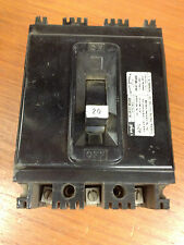 Federal Pacific 20 amp Circuit Breaker 3 Pole TYPE NEF433020