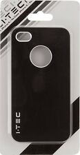IPhone 4S case,  IPhone 4 case  Black, case for I Phone 4S & I Phone 4 I.TEC