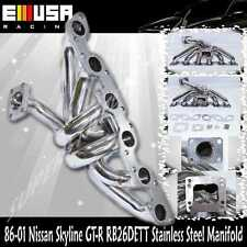 Top Mount SS Turbo Manifold for 89-01 Skyline RB26DET GT-R RB26 R32/R33/R34