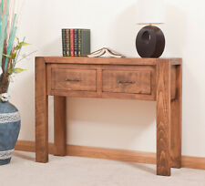 SOLID  RUSTIC SAWN PLANK HALL SIDEBOARD | Hand-waxed | Handmade to Order